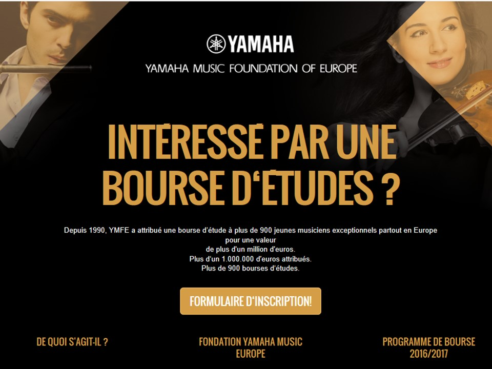 EML Pianos Bourse Yamaha Music Europe Pi