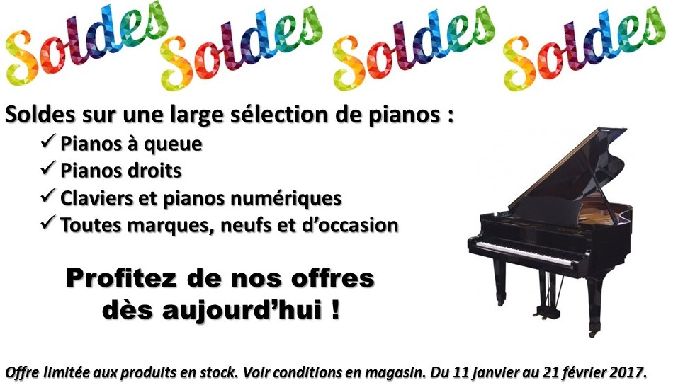 soldes pianos et num riques hiver 2017 eml pianos lyon. Black Bedroom Furniture Sets. Home Design Ideas