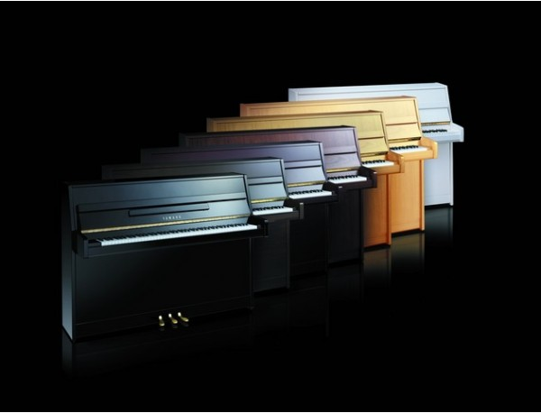 Finitions de pianos Yamaha série B