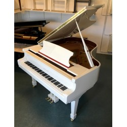 PIANO A QUEUE Hermann Jacobi HJ-168 Blanc Brillant