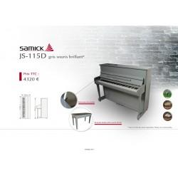 Piano droit SAMICK  JS-115