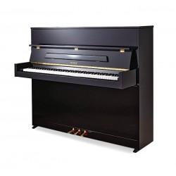 PIANO DROIT PETROF P118 S1 Noir Poli