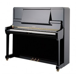 Piano droit PETROF P 135 K1 Noir Brillant