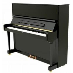 Piano Droit PETROF 125 F1 Noir Brillant
