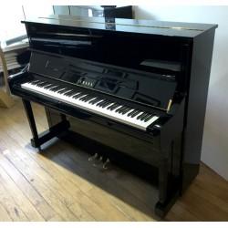 Piano droit YAMAHA YS10SB, Silent, 121 cm, noir brillant, très récent
