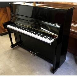 Piano droit occasion HEINEMAN By Petrof 118 noir brillant