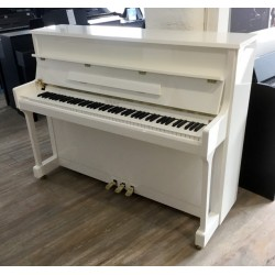 Piano droit Heineman 111 T Blanc Brillant