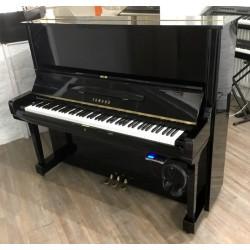 Piano occasion Yamaha U3 Silent Genio Noir Brillant 1m31