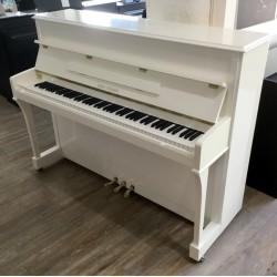 Piano droit Wilh Steiner 111 Elegance Blanc Brillant