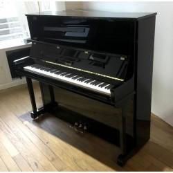 Piano Droit Occasion SAUTER 130 R2 Noir brillant