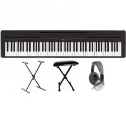 Pack : Piano numérique YAMAHA P 35 Noir Mat + Banquette en X + Casque JVC