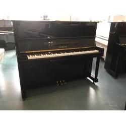 Piano Droit YAMAHA U10 Silent 121cm Noir brillant