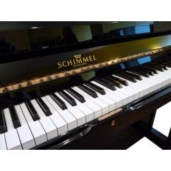 Piano Droit SCHIMMEL 120T Noir brillant, mécanique Renner