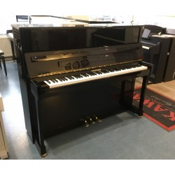 Piano Droit W. HOFFMANN 120 World Noir Brillant