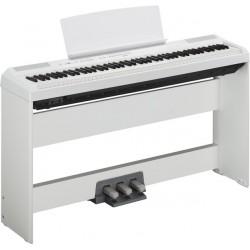 Pianos numériques YAMAHA P115 WH BLANC + STAND + PEDALIER