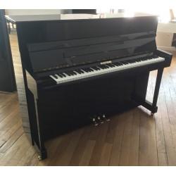 Piano Droit W. HOFFMANN 116 Noir Brillant