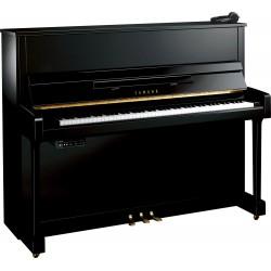 PIANO DROIT YAMAHA b3 SILENT 121cm Noir Brillant