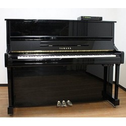 Piano Droit YAMAHA YU1 SILENT DISKLAVIER 121cm Noir brillant