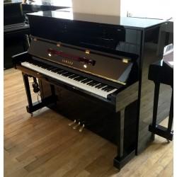 PIANO DROIT YAMAHA b3e SG2 SILENT 121cm Noir Brillant