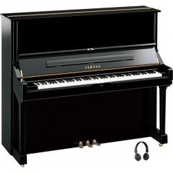Piano droit YAMAHA U3 Silent noir brillant