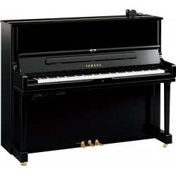 PIANO DROIT YAMAHA YUS1 SH2 SILENT 121cm Noir Brillant