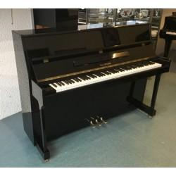 Piano droit WALDSTEIN, 110 G, finition noir brillant