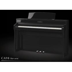 PIANO NUMERIQUE KAWAI CA98 EP Noir brillant