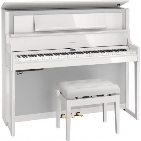 Piano numérique Roland LX708-PE Noir brillant.