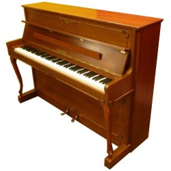 Piano Droit C.SAUTER 110 Barock Noyer satiné