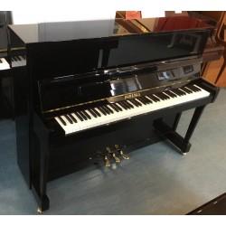 Piano droit BOHEMIA 113 Menuet noir brillant