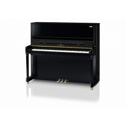 Piano droit KAWAI K500 AURES ATX3 hybrid noir brillant 130cm