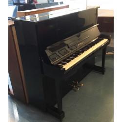 Piano droit Kawai NO K20 Silent noir brillant 124cm