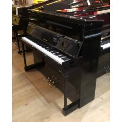 Piano Droit SEILER occasion 118 Konsole Noir Brillant