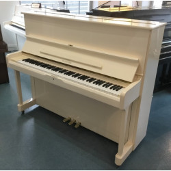 Piano droit Hyundai By Samick U-838 121cm Blanc brillant