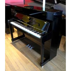 Piano Droit PETROF P118M Noir brillant Edition limitée Silver