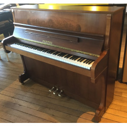 Piano droit PLEYEL 122 Matignon Noyer satiné