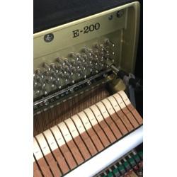 Piano Droit KAWAI E200 Noir Mat 114 cm