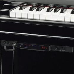 Piano droit YAMAHA TransAcoustic U1TA2 121cm Noir brillant