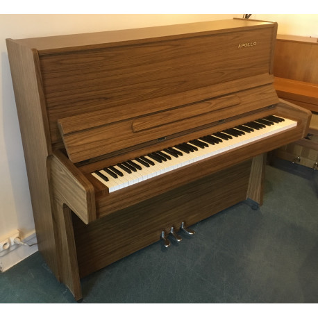 Piano droit APOLLO 122 Noyer Satiné 122cm