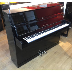 Piano Droit SEILER 118 Noir brillant 118cm