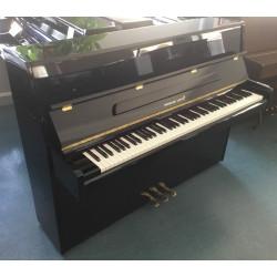 Piano Droit HERMANN JACOBI Saint Moritz Noir brillant