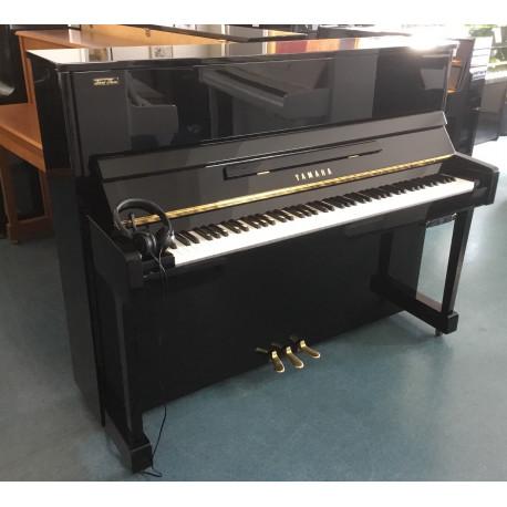 Piano droit YAMAHA YM5 SIlent KIOSHI Noir brillant
