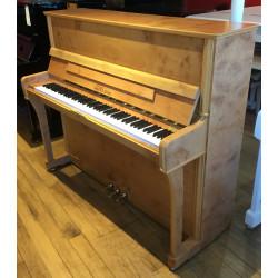 PIANO DROIT OCCASION SEILER 122 KONSOLE Platane d'orient satiné
