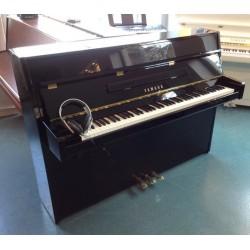 Piano droit YAMAHA b1 silent Noir brillant 109cm