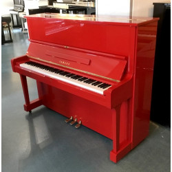 Piano Droit YAMAHA U1 121cm Rouge brillant