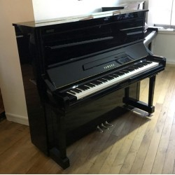 Piano Droit YAMAHA YU3 SILENT 131 cm Noir brillant
