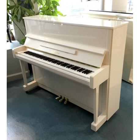 Piano droit Yamaha b3e  Blanc brillant 1m21