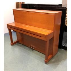 PIANO DROIT SAMICK 118 Harmonie Merisier / Chrome 1m18