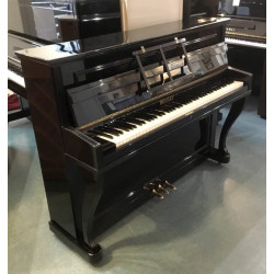 Piano droit Bentley Normandy noir Brillant 1m14