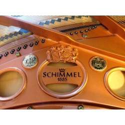 PIANO A QUEUE Schimmel CC 208 T 2m08 Noir brillant